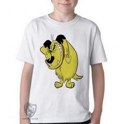 Camiseta Infantil  Mutley rindo