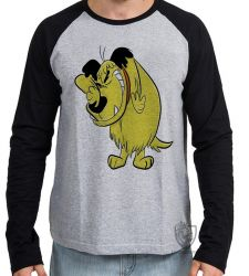 Camiseta Manga Longa  Mutley rindo