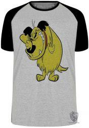 Camiseta Raglan  Mutley rindo