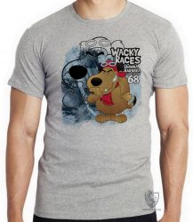 Camiseta Infantil  Mutley azul
