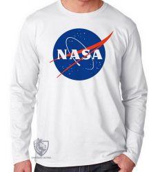 Camiseta Manga Longa NASA