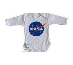 Roupa Bebê manga longa NASA