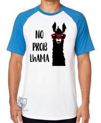 Camiseta Raglan  No Problhama