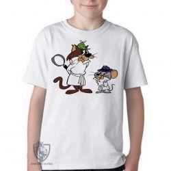 Camiseta Infantil Olho Vivo e Faro Fino
