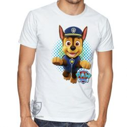 Camiseta  Patrulha Canina Chase