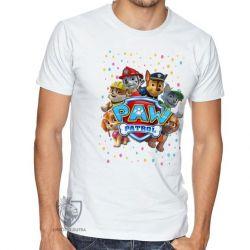 Camiseta  Patrulha Canina equipe