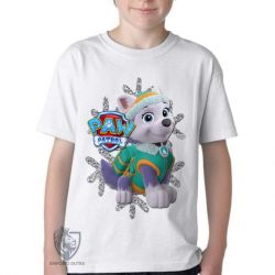 Camiseta Infantil  Patrulha Canina Everest