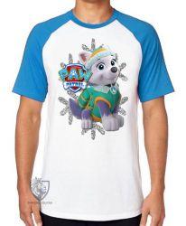 Camiseta Raglan  Patrulha Canina Everest