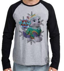 Camiseta Manga Longa Patrulha Canina Everest