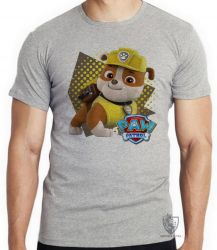 Camiseta  Patrulha Canina Rubble