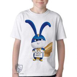 Camiseta Infantil  Pets Bola de Neve