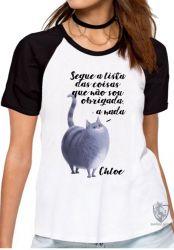 Blusa Feminina  Pets Chloe