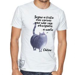 Camiseta  Pets Chloe