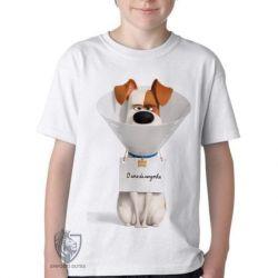 Camiseta Infantil  Pets Max Cone