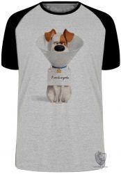 Camiseta Raglan  Pets Max Cone
