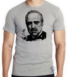 Camiseta Infantil Poderoso Chefão Corleone