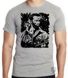 Camiseta Infantil  Predador Schwarzenegger