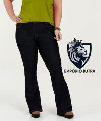 Calça Jeans Feminina Stretch Tamanho 50