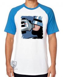 Camiseta Raglan  Robocop mobil