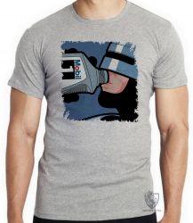 Camiseta Infantil  Robocop mobil