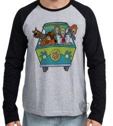 Camiseta Manga Longa Scooby Doo van