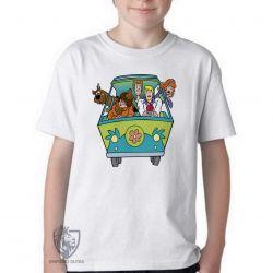 Camiseta Infantil  Scooby Doo van