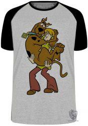 Camiseta Raglan  Scooby Doo Salsicha
