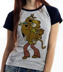 Blusa Feminina  Scooby Doo Salsicha