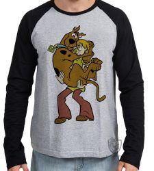 Camiseta Manga Longa Scooby Doo Salsicha
