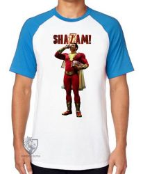Camiseta Raglan Shazam