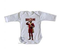 Roupa Bebê manga longa Shazam