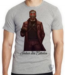 Camiseta Infantil Senhor das Estrelas máscara