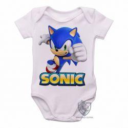 Roupa  Bebê Sonic