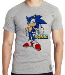 Camiseta Infantil  Sonic II