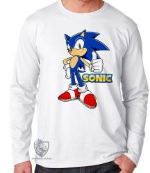 Camiseta Manga Longa Sonic II