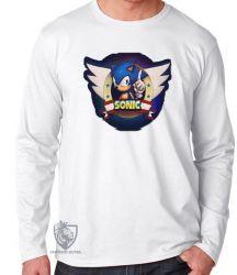 Camiseta Manga Longa Sonic III