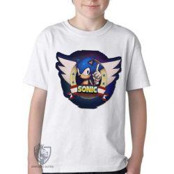 Camiseta Infantil  Sonic III