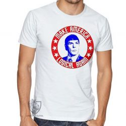 Camiseta  Spock make America