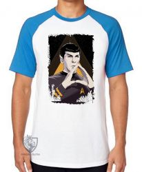Camiseta Raglan Spock mãos