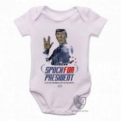 Roupa  Bebê  Spock for President