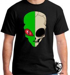 Camiseta alien et reptiliano