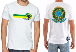 Camiseta Brasileiro Patriota