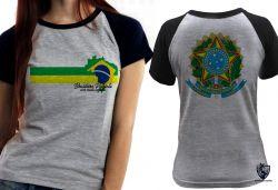 Blusa Feminina Brasileiro Patriota