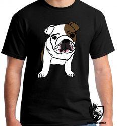 Camiseta cachorro bulldog