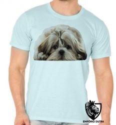 Camiseta Shih tzu desenho