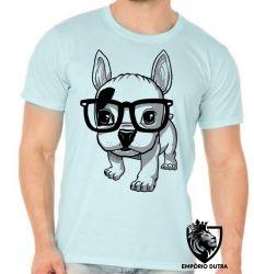 Camiseta Cachorro Nerd