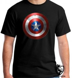 Camiseta capitão america escudo