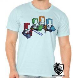 Camiseta castle crashers