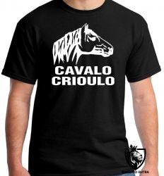 Camiseta cavalo crioulo