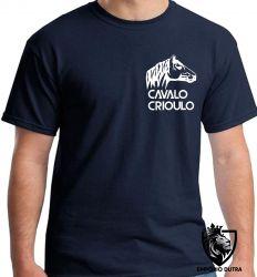 Camiseta cavalo crioulo gaucho